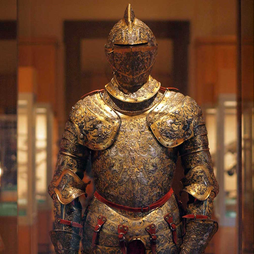Metropolitan Museum of Art Armor Detail