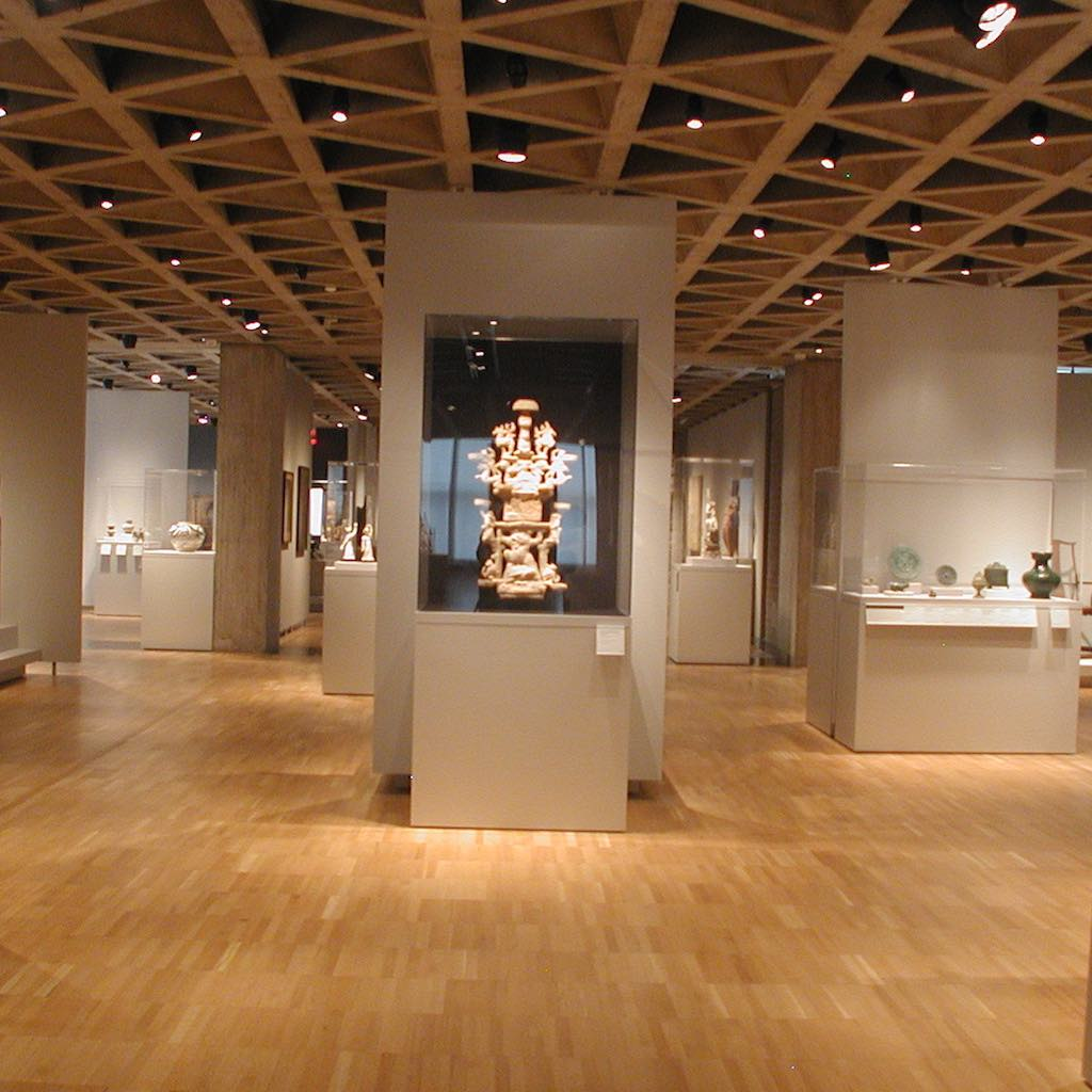 Yale University Art Gallery Kahn Wing Asian Gallery