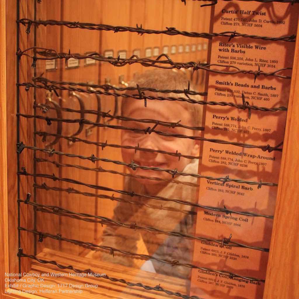 Cowboy & Western Heritage Museum Barbed Wire