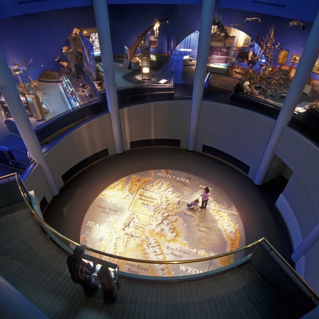 Draper Museum of Natural History Map Overview