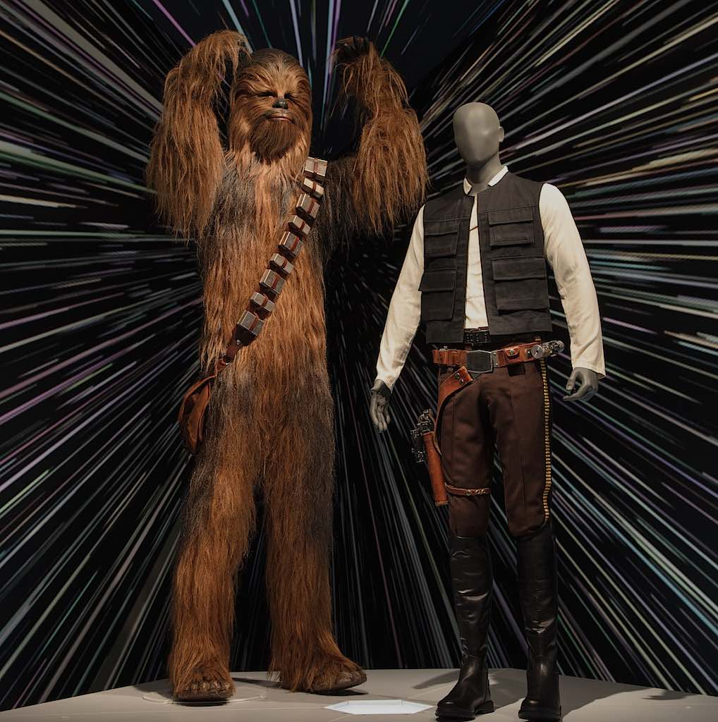 Star Wars Power of Costume Hans & Chewbaca