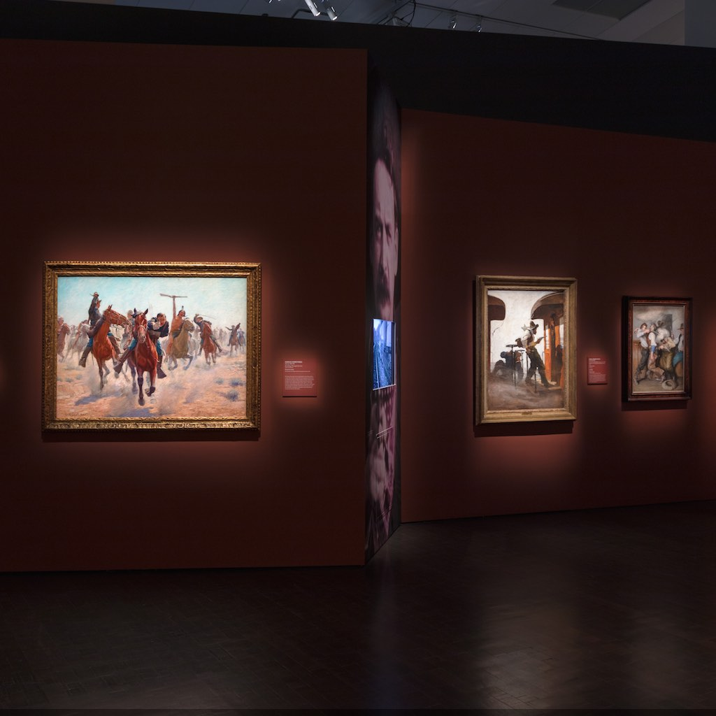 The Western: An Epic in Art and Film on view May 26-Spet 10, 2017